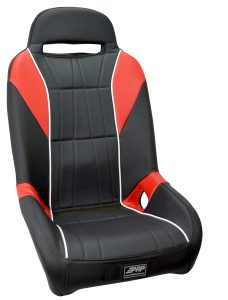 The Original GT Suspension Seat in Red and White
