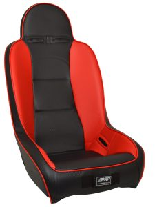 High Back Seat in Red