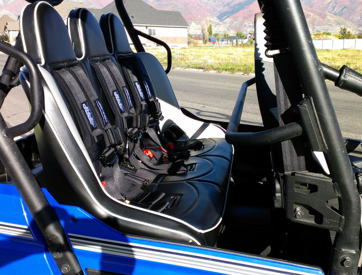 Rear Bench Seat ~ Quot teryx rear bench black prp seats