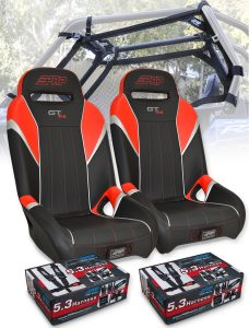 RZR Safety Seat Package Red