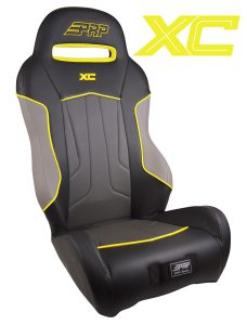 Yellow XC Can Am Seat