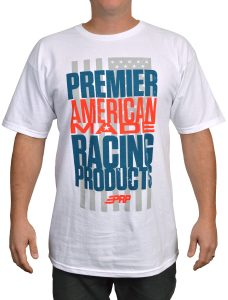 PRP Seats American Made Tee in White