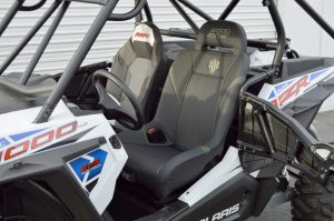 PRP Seats installed in a Polaris RZR XP 1000