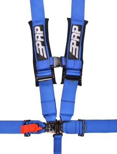 5 point, 3 inch harness in blue