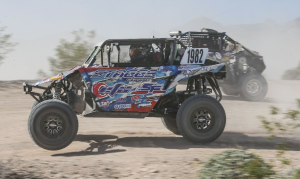 Jeremiah Staggs on the course at the Contingency day at Polaris RZR UTV World Championship