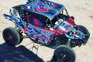 Jeremiah Staggs polished up at the Contingency day at Polaris RZR UTV World Championship