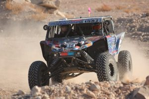 Jeremiah Staggs in his Yamaha YXZ at the Mint 400