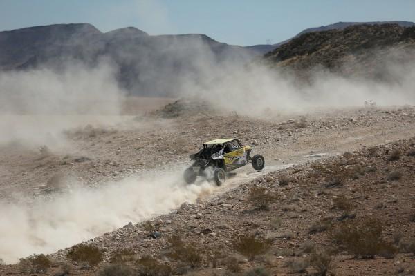 Mitch Guthrie Jr. climbing hills at the Mint 400