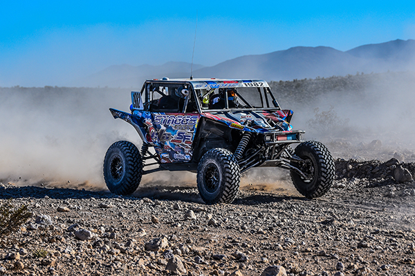 Jeremiah Staggs racing the Mint 400