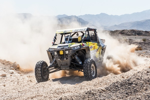 Mitch Guthrie Jr. racing the 2016 Mint 400