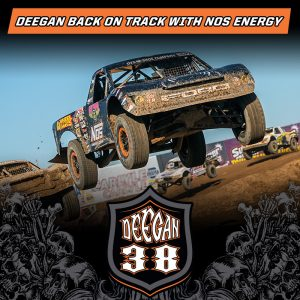 Brian Deegan back on track with NOS Energy
