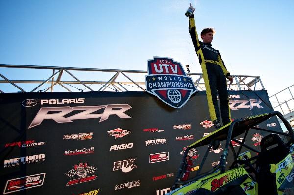 Mitch Guthrie Jr, Polaris RZR UTV World Champion - Production Class