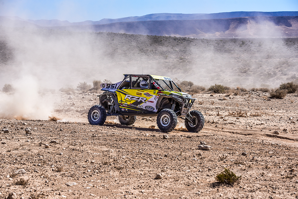 Mitch Guthrie on lap 3 at the Mint 400