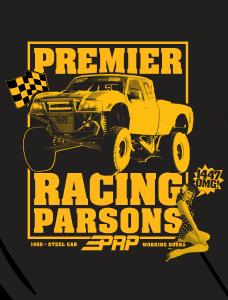 Parsons Tee Shirt Back