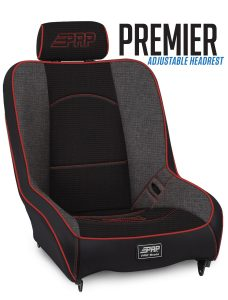 Premier Suspension Seat with Adjustable Headrest