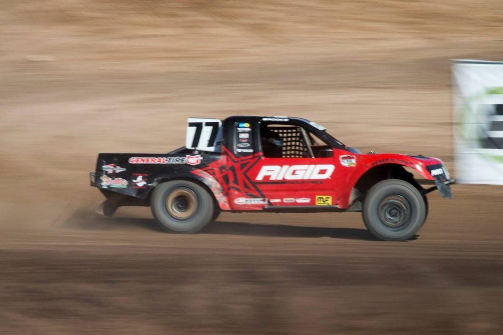 The weekend was a blur for Jarett Brooks in Chandler, AZ