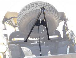 Yamaha YXZ Spare Tire Mount Open