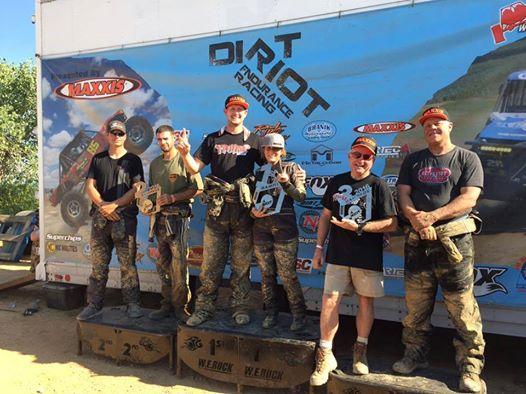 Dirt Riot Nationals Podium