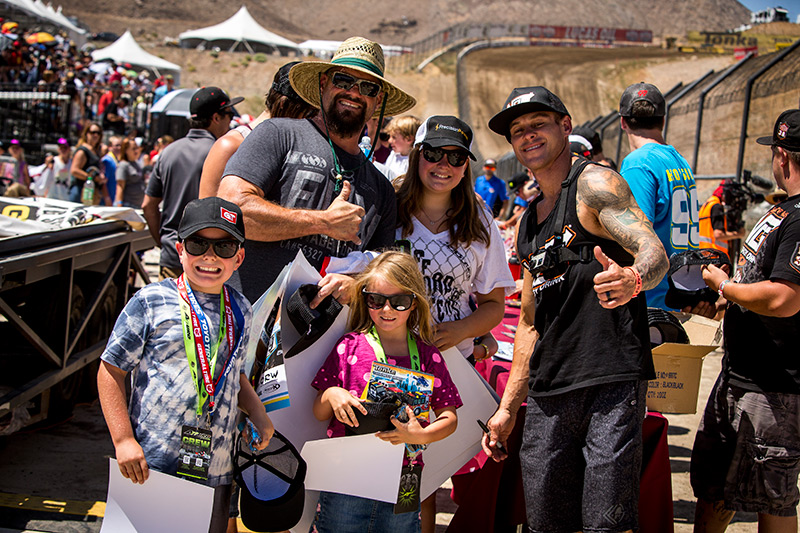 Brian Deegan always has time for the fans