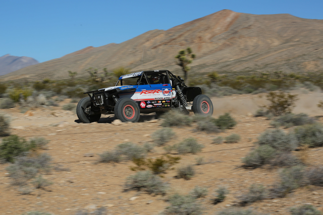 factory team racing RZR driven by Wes Miller