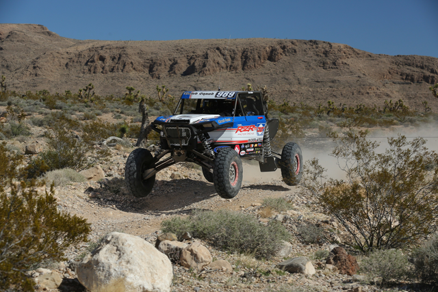 Wes Miller takes a jump with the New 2017 RZR