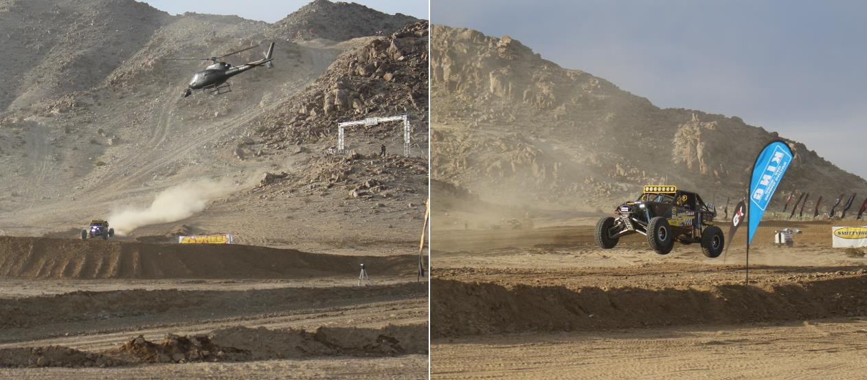 King of the hammers Panoramic shot