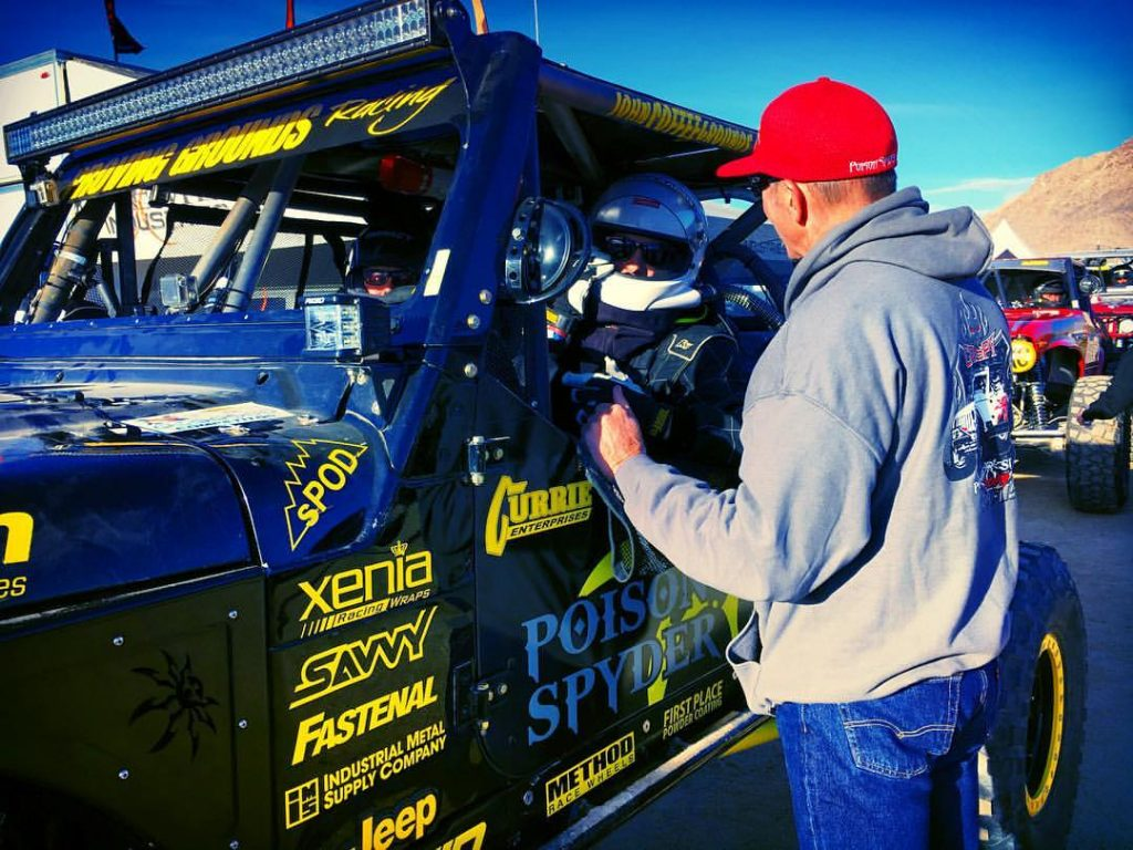Proving Ground Racing waits to start the Mint400