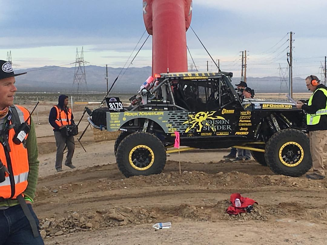 PRG gets ready to start the 2017 Mint400
