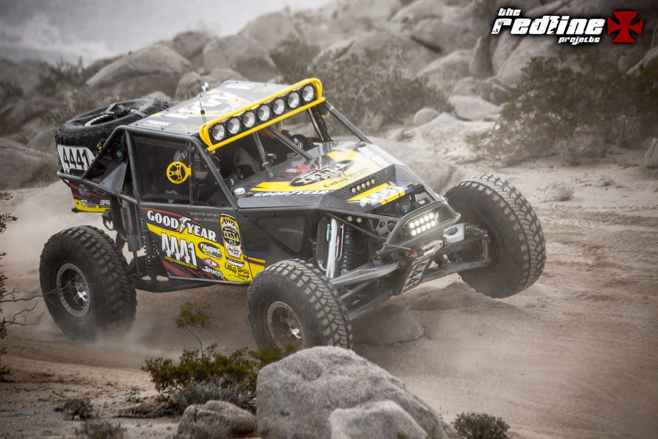 D2D races at King of the Hammers with Darren Henke Driving.