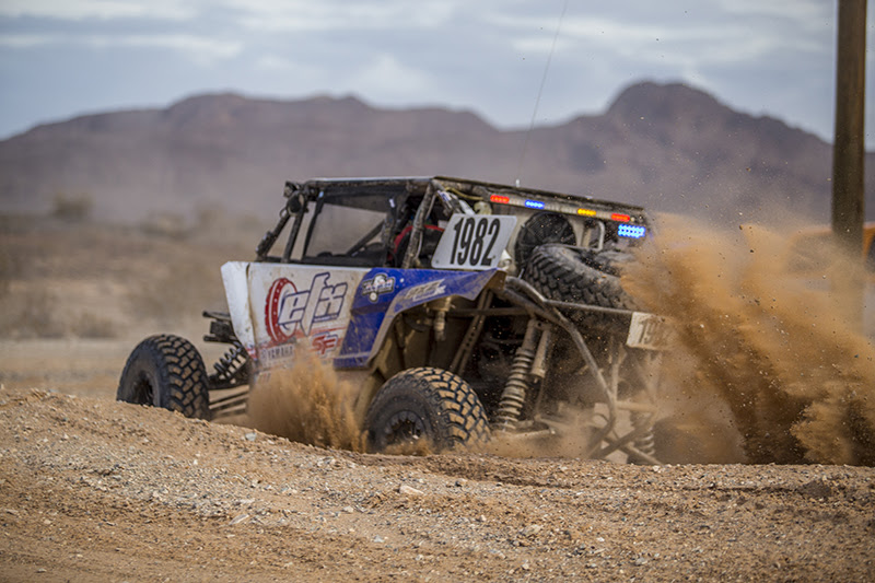 Jeremiah STaggs drifts a turn during staggs 250