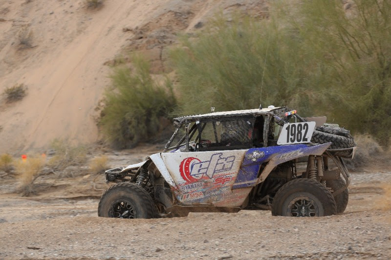 Taking a sharp turn at Parker 250
