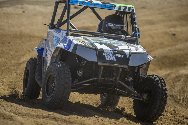 Brock Staggs racing at UTVWC in the 170 Class