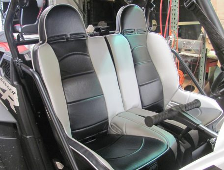 PRP Seats 50 50 Seat installed