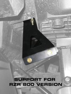 RZR 800 Spare tire mount support
