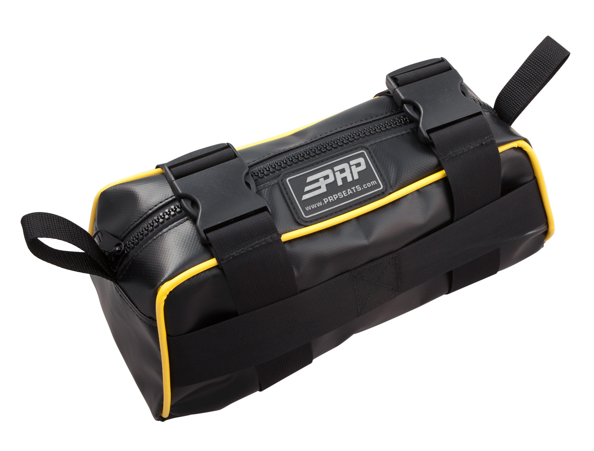 Baja Bag with yellow piping
