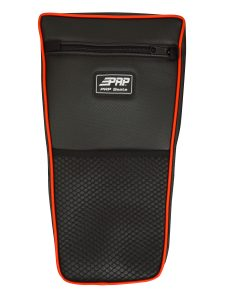 XP 1000 Center Bag with Carbon Fiber Red Piping