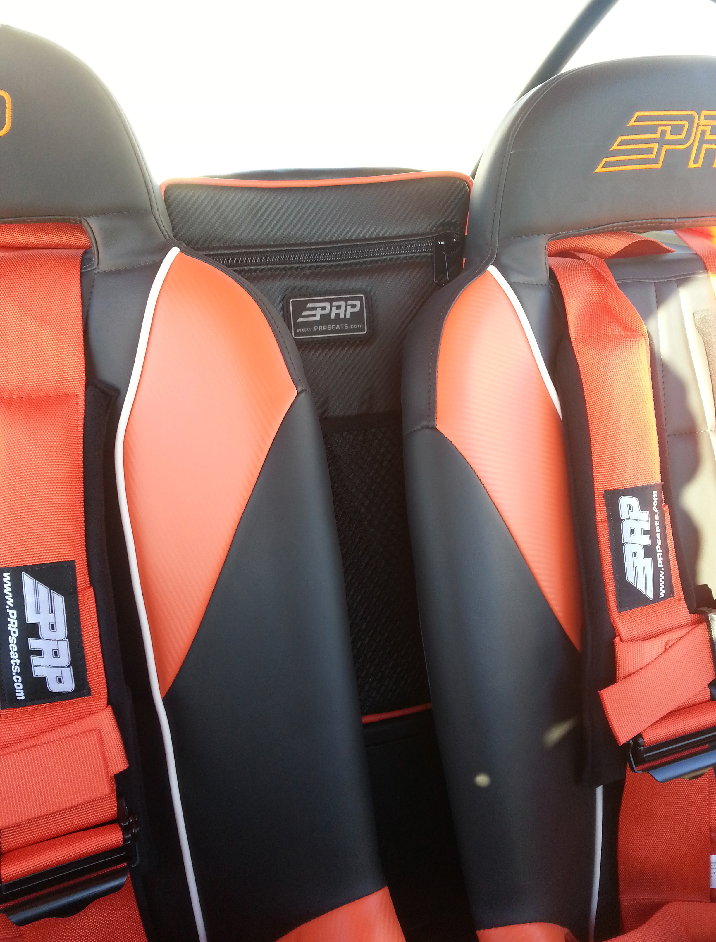 Rzr Center Bag Prp Seats