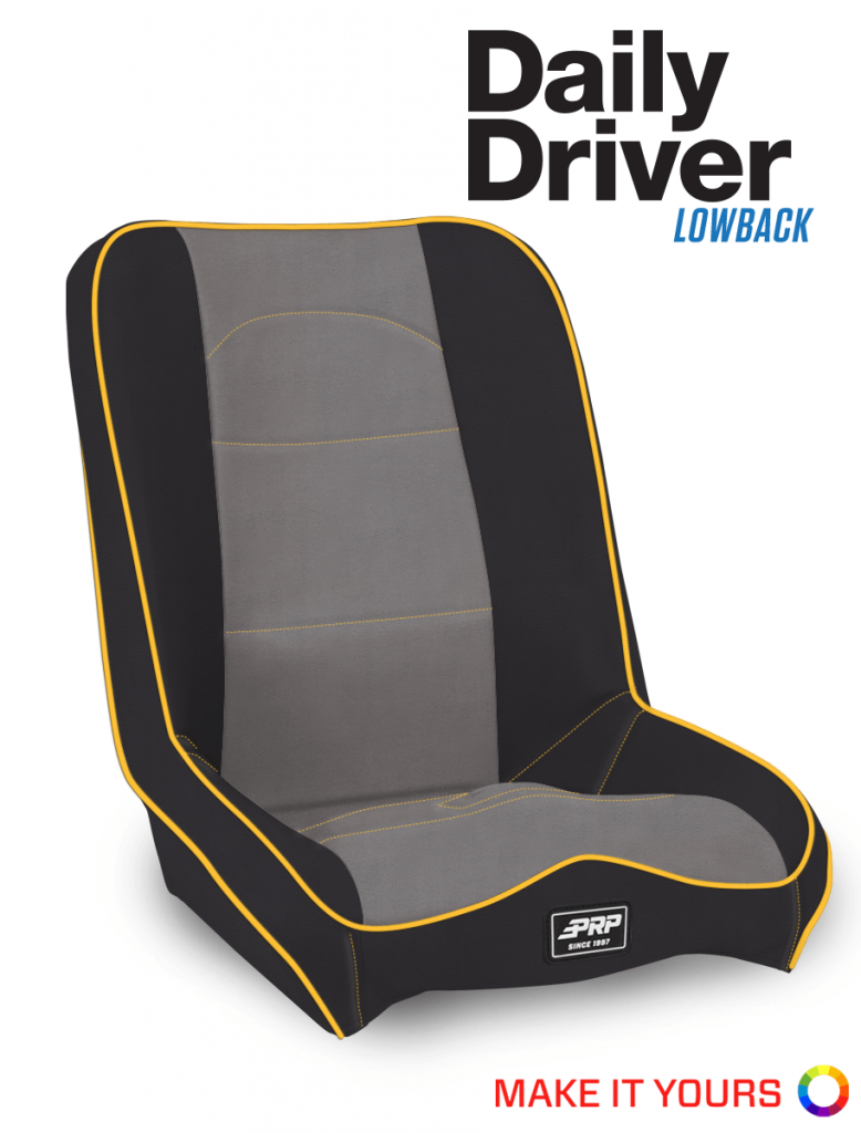 Daily Driver Lowback Seat