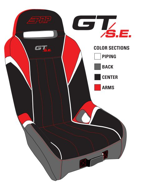 GT SE Color Sections