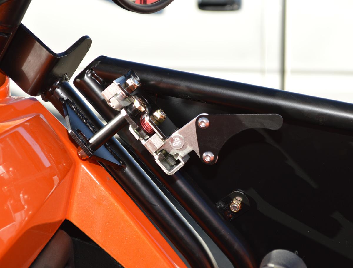 Our Dual Locking Slam Latch & Removable RZR 2 Door Set   PRP Seats pezcame.com
