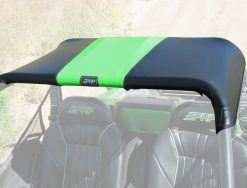 Wildcat soft top in green and black