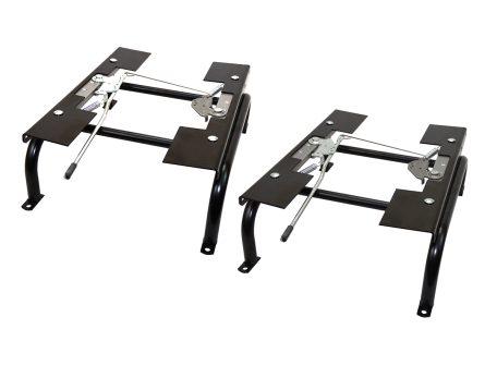 A pair of universal slider mounts