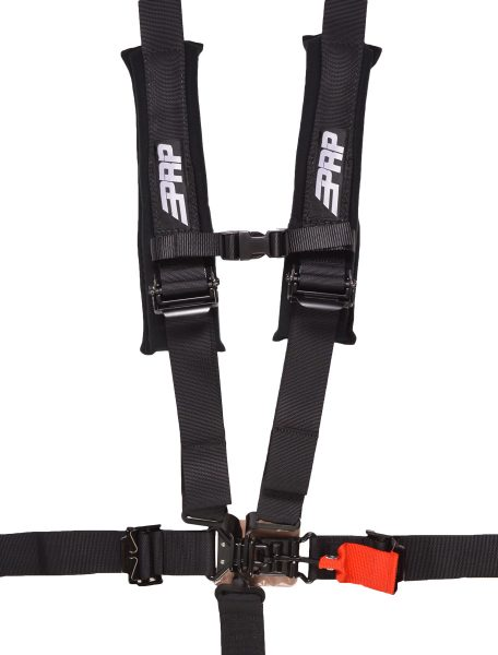 "PRP 5.2 harness: a 5 point harness with 2"" inch belts"