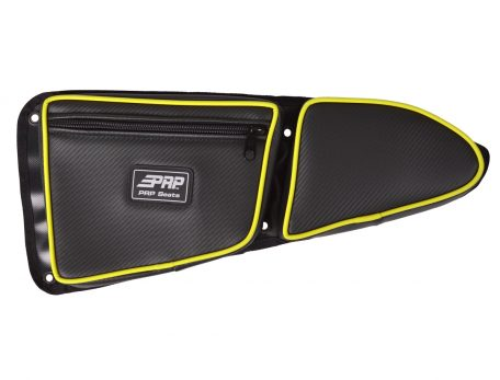 Driver XP1000 Stock Door Bag with Lime Squeeze Piping
