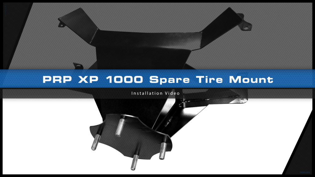 XP 1000 Spare Tire Mount install video title