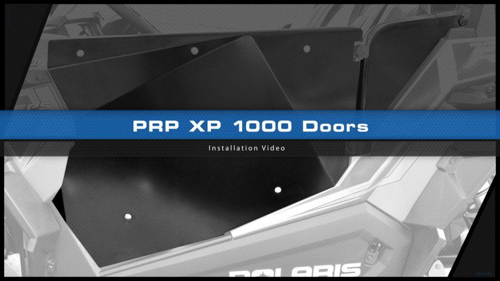 XP 1000 Door installation video title screen