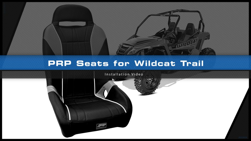 Awe Inspiring Wildcat Trail Seat Installation Video Prp Seats Caraccident5 Cool Chair Designs And Ideas Caraccident5Info