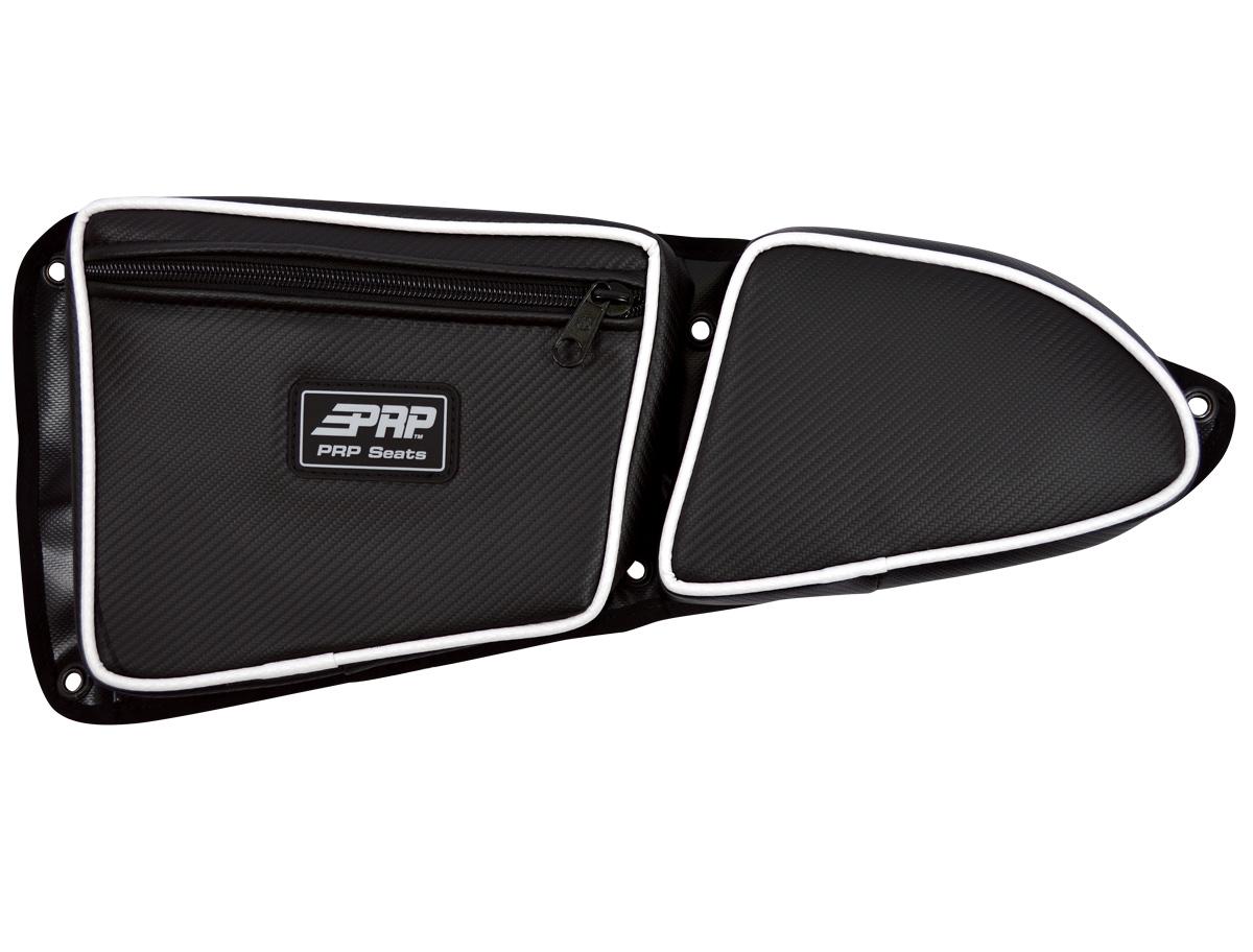 XP 1000 Front Driver Side Door Bag White  sc 1 st  PRP Seats & RZR Stock Door Bag with Knee Pad | PRP Seats