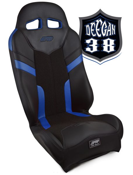 Deegan 38 Pre-runner seat in blue
