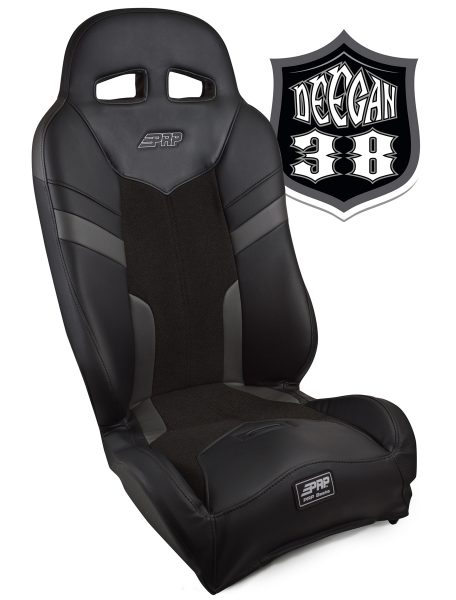 Deegan 38 Pre-runner seat in gray